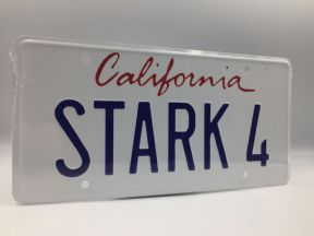 Ironman License Plate